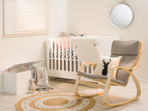 Children's Nursery Combo Cot and Change Table