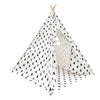Kid's Teepee - Tree Black/White