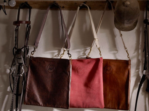 Handmade leather bags and suede bags
