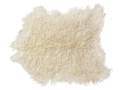 Golden Angora Goat Hide