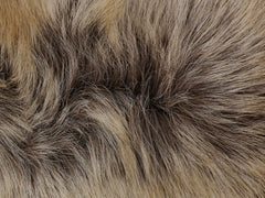 Close-up image of the texture of our Finnish Reindeer hide