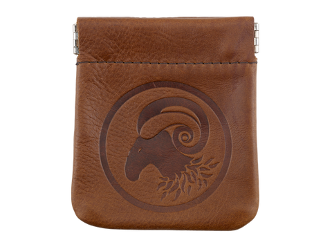 Traditional Leather Coin Purse (in 3 colours)
