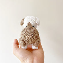 Load image into Gallery viewer, Made to Order BULLDOG crochet amigurumi