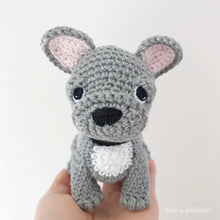 Load image into Gallery viewer, Made to Order FRENCH BULLDOG crochet amigurumi