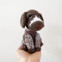 Load image into Gallery viewer, Made to Order GERMAN SHORTHAIRED POINTER crochet amigurumi