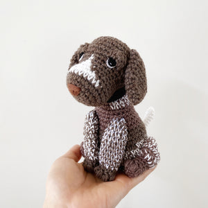 Made to Order GERMAN SHORTHAIRED POINTER crochet amigurumi