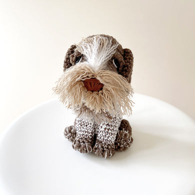 Made to Order GERMAN WIREHAIRED POINTER crochet amigurumi