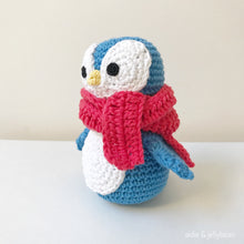 "Load image into Gallery viewer, AMIGURUMI PATTERN/ tutorial (English) Amigurumi Penguin - ""Felix the Happy Little Penguin"" pdf - US terminology"
