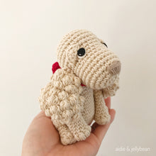 "Load image into Gallery viewer, AMIGURUMI PATTERN/ tutorial (English) Amigurumi Spaniel Dog - ""Sophie the Spaniel Puppy"" pdf - US terminology"