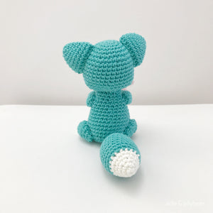 "AMIGURUMI PATTERN/ tutorial (English) Amigurumi Fox - ""Joi the Little Fox"" pdf - US terminology"