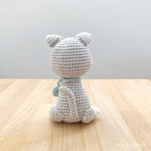 "AMIGURUMI PATTERN/ tutorial (English) Amigurumi Cat - ""Nala the Kitten Pattern"" pdf - US terminology"