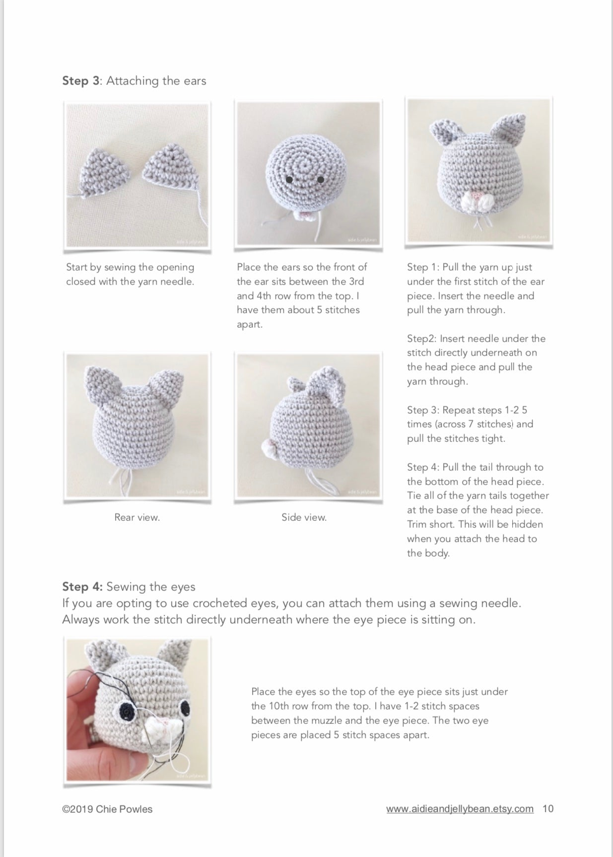 Amigurumi Cat Face Tutorial Crochet Toy Bear and Horse #амигуруми ... | 1726x1235