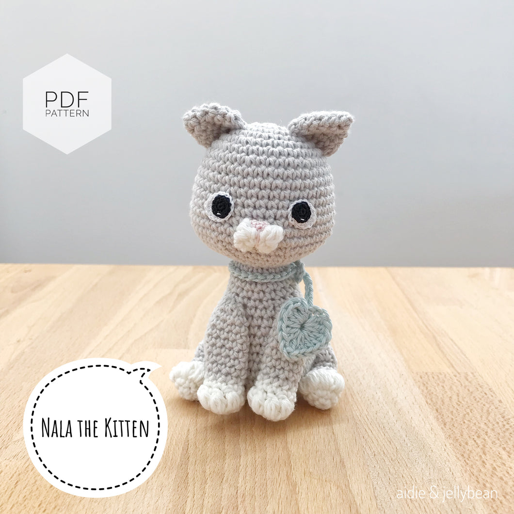 Little Amigurumi Cat Free Crochet Pattern | Crochet cat pattern ... | 1060x1060