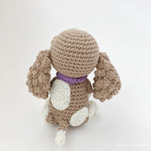 "Load image into Gallery viewer, AMIGURUMI PATTERN/ tutorial (English) Amigurumi Cavalier Dog - ""Coco the Cavalier Puppy"" pdf - US terminology"