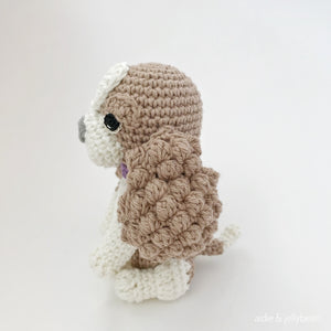 "AMIGURUMI PATTERN/ tutorial (English) Amigurumi Cavalier Dog - ""Coco the Cavalier Puppy"" pdf - US terminology"