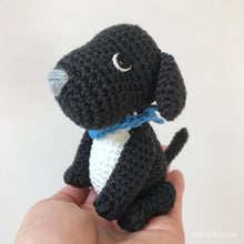 "Load image into Gallery viewer, AMIGURUMI PATTERN/ tutorial (English) Amigurumi Labrador Dog - ""May the Labrador Puppy"" pdf - US terminology"