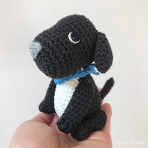 "AMIGURUMI PATTERN/ tutorial (English) Amigurumi Labrador Dog - ""May the Labrador Puppy"" pdf - US terminology"