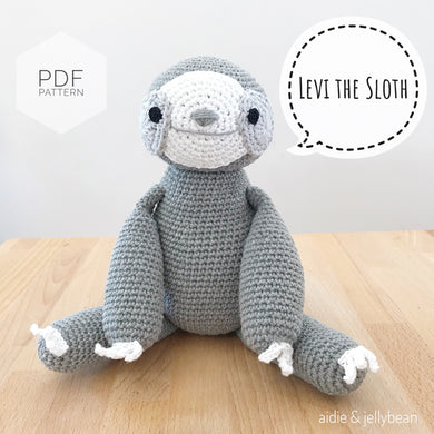 AMIGURUMI PATTERN/ tutorial (English) Amigurumi Sloth -