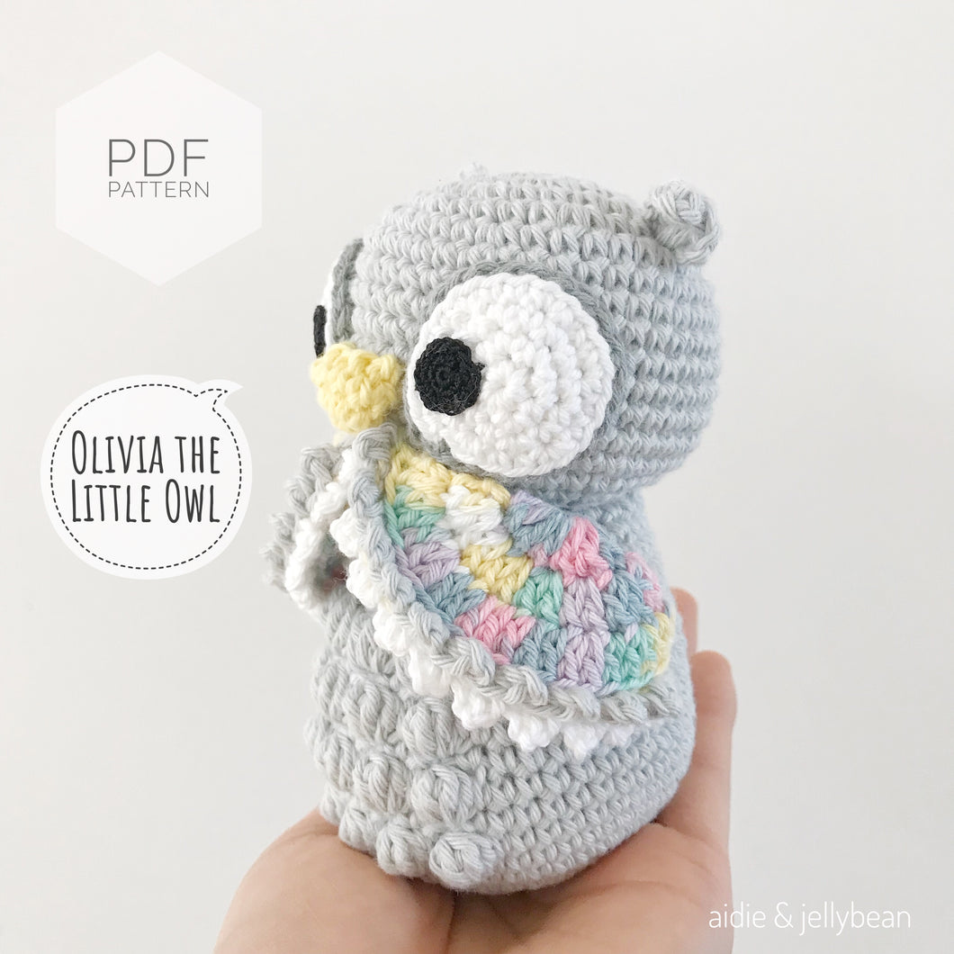 AMIGURUMI PATTERN/ tutorial (English) Amigurumi Owl -