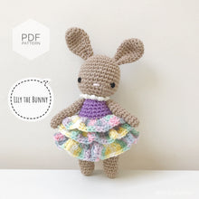 "Load image into Gallery viewer, AMIGURUMI PATTERN/ tutorial (English) Amigurumi Bunny - ""Lily the Bunny"" pdf - US terminology"