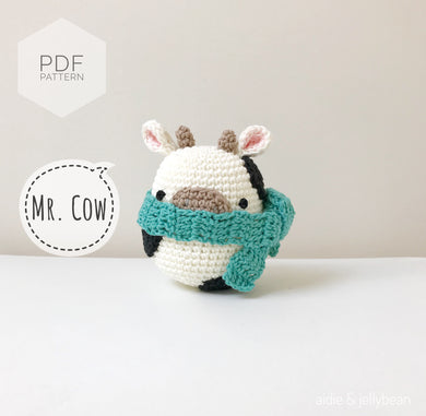 AMIGURUMI PATTERN/ tutorial (English) Amigurumi Cow