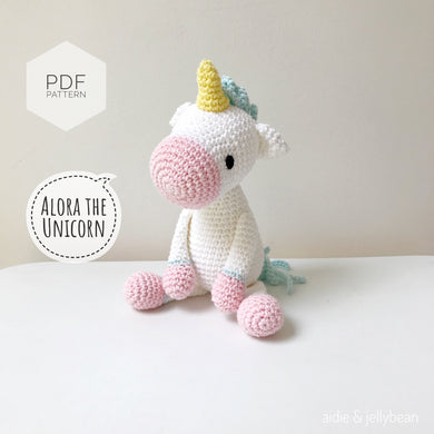 AMIGURUMI PATTERN/ tutorial (English) Amigurumi Unicorn -