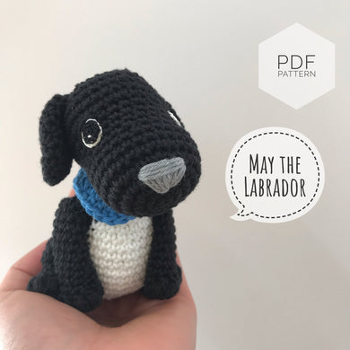 AMIGURUMI PATTERN/ tutorial (English) Amigurumi Labrador Dog -