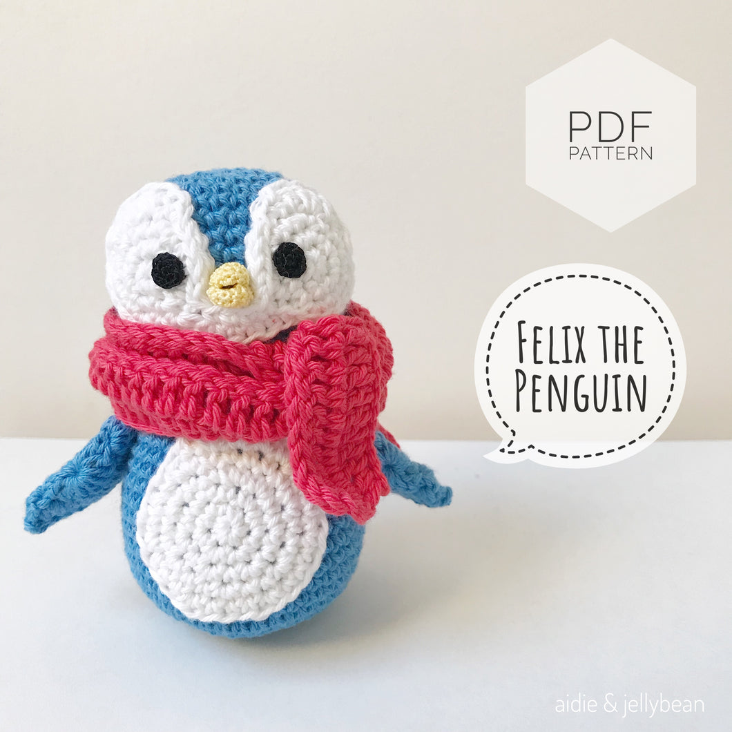 AMIGURUMI PATTERN/ tutorial (English) Amigurumi Penguin -