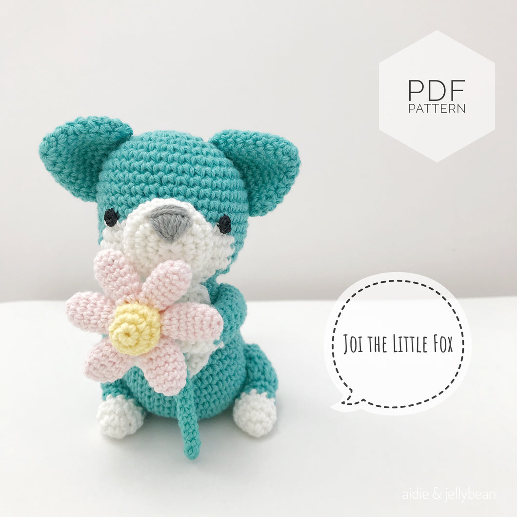 AMIGURUMI PATTERN/ tutorial (English) Amigurumi Fox -