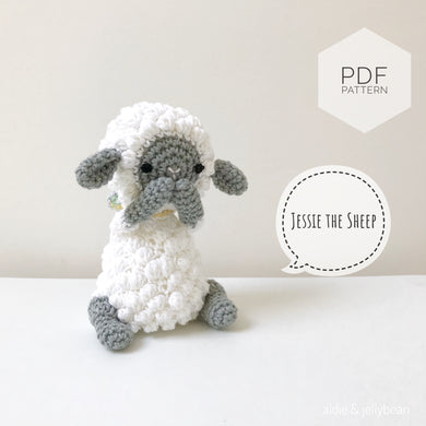 AMIGURUMI PATTERN/ tutorial (English) Amigurumi Sheep -