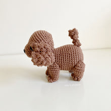 "Load image into Gallery viewer, AMIGURUMI PATTERN/ tutorial (English) Amigurumi Cavoodle  - ""Millie the Cavoodle puppy"" pdf - US terminology"