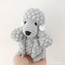 "Load image into Gallery viewer, AMIGURUMI PATTERN/ tutorial (English) Amigurumi Poodle Dog - ""Elsa the Poodle Puppy"" pdf - US terminology"