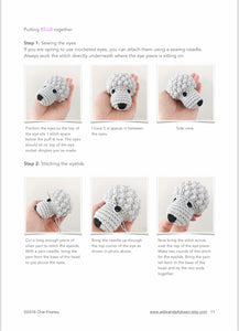 "AMIGURUMI PATTERN/ tutorial (English / Español) Amigurumi Poodle Dog - ""Elsa the Poodle Puppy"""