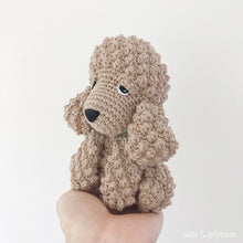 "Load image into Gallery viewer, AMIGURUMI PATTERN/ tutorial (English) Amigurumi Cockapoo Dog - ""Mabel the Cockapoo Puppy"" pdf - US terminology"