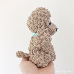 "AMIGURUMI PATTERN/ tutorial (English) Amigurumi Cockapoo Dog - ""Mabel the Cockapoo Puppy"" pdf - US terminology"