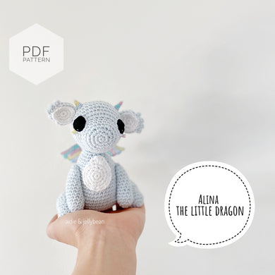 AMIGURUMI PATTERN/ tutorial (English) Amigurumi Dragon -