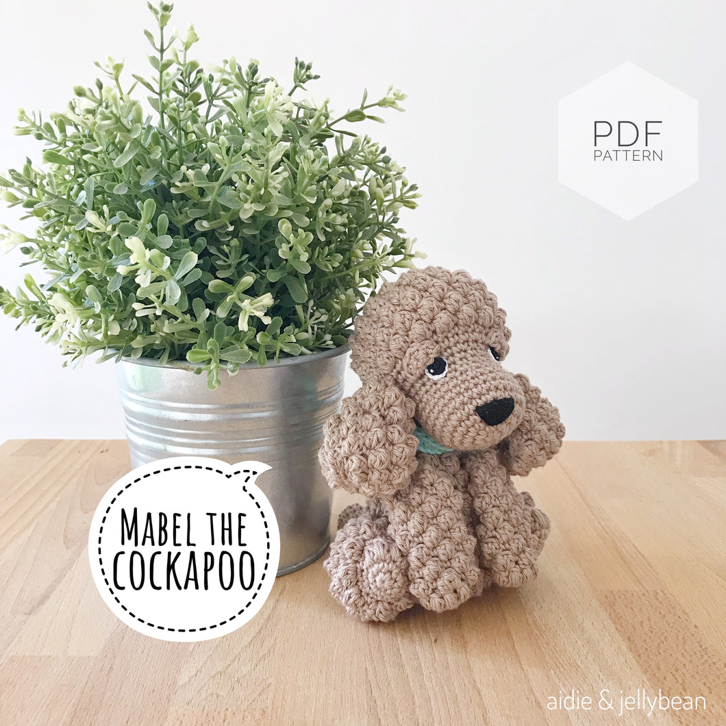 AMIGURUMI PATTERN/ tutorial (English) Amigurumi Cockapoo Dog -