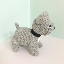 "Load image into Gallery viewer, AMIGURUMI PATTERN/ tutorial (English) Amigurumi French Bulldog - ""Louie the French Bulldog Puppy"" pdf - US terminology"