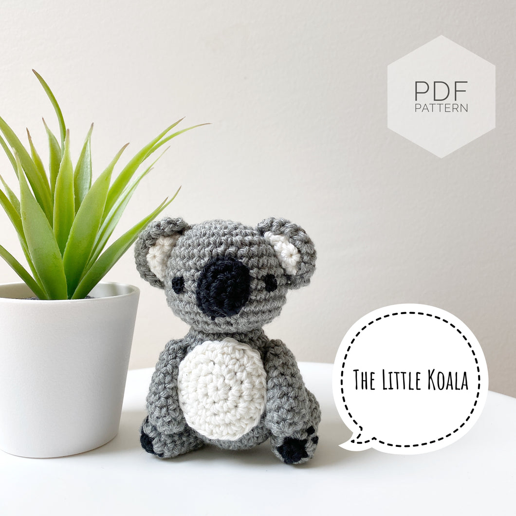 AMIGURUMI PATTERN/ tutorial (English) Amigurumi koala -