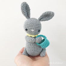 "Load image into Gallery viewer, AMIGURUMI PATTERN/ tutorial (English) Amigurumi Bunny - ""Easter Bunny Trio"" pdf - US terminology"