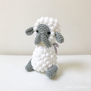 "AMIGURUMI PATTERN/ tutorial (English) Amigurumi Sheep - ""Jessie the Sheep"" pdf - US terminology"