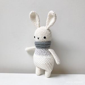 "AMIGURUMI PATTERN/ tutorial (English) Amigurumi Bunny - ""Willow the Bunny"" pdf - US terminology"