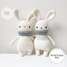 "Load image into Gallery viewer, AMIGURUMI PATTERN/ tutorial (English) Amigurumi Bunny - ""Willow the Bunny"" pdf - US terminology"