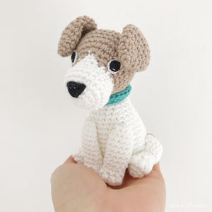Made to Order JACK RUSSELL crochet amigurumi
