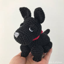 Load image into Gallery viewer, Made to Order SCOTTISH TERRIER crochet amigurumi
