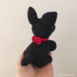 Made to Order SCOTTISH TERRIER crochet amigurumi