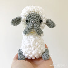 "Load image into Gallery viewer, AMIGURUMI PATTERN/ tutorial (English) Amigurumi Sheep - ""Jessie the Sheep"" pdf - US terminology"