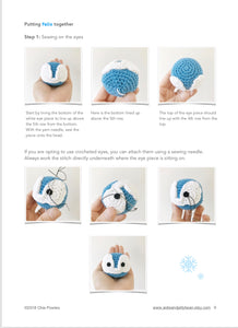 "AMIGURUMI PATTERN/ tutorial (English) Amigurumi Penguin - ""Felix the Happy Little Penguin"" pdf - US terminology"