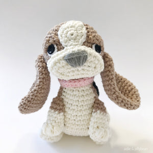 "AMIGURUMI PATTERN/ tutorial (English) Amigurumi Hound Dog - ""Molly the Hound Puppy"" pdf - US terminology"