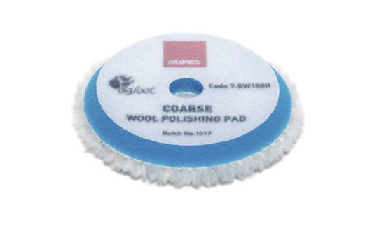 "9.BW100H-W | 3"" Rupes Coarse Wool Pad"